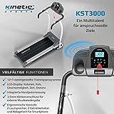 Kinetic Sports Laufband, Leiser 1100 W Elektromotor, mit Trainingscomputer, 2 Getränkehalter, Zusammenklappbar - 4
