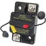 Blue Sea Systems 187 Series, 285 Series & Klixon Circuit Breakers, 285 Series, Surface Mount, 80A DC