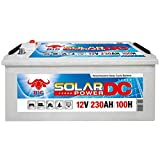 BIG Solarbatterie 12V 230Ah Versorgung Wohnmobil Boot Batterie statt 220Ah 200Ah