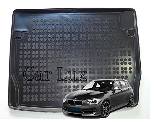 Car Lux AR02046 - Alfombra Cubeta Protector Cubre Maletero de Goma y Enrollable Premium Serie 1 F20 Desde 2011-
