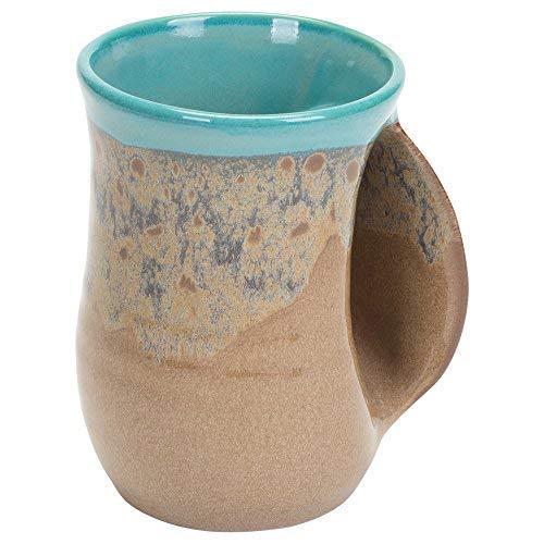 Clay in Motion Handwarmer Mug - Right Hand (Island Oasis)