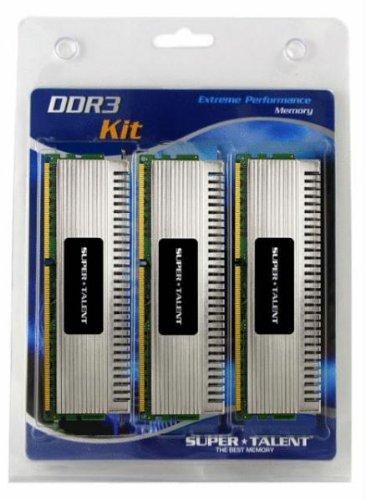 Super Talent Chrome Series Arbeitsspeicher 12GB (1600 MHz, 3X 4GB) DDR3-RAM Kit3