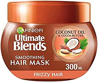 [Garnier ] 究極のブレンドココナッツオイル縮れた毛のマスク300ミリリットル - Ultimate Blends Coconut Oil Frizzy Hair Mask 300ml [並行輸入品]