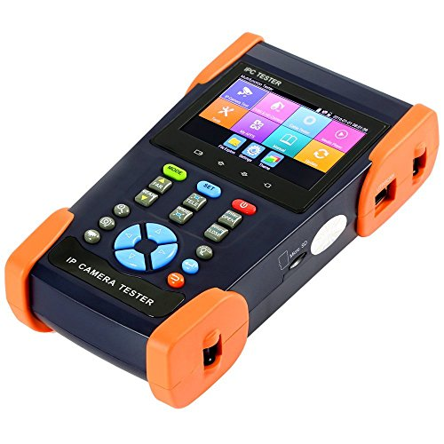 Buy Discount Precamview 3.5 Inch H.265 4K IP Camera CCTV Tester Monitor AHD CVI TVI CVBS 8MP Camera ...