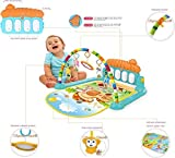 Supreme Deals® Latest Baby's Piano Gym Kick and Play Multi-Function ABS High Grade
