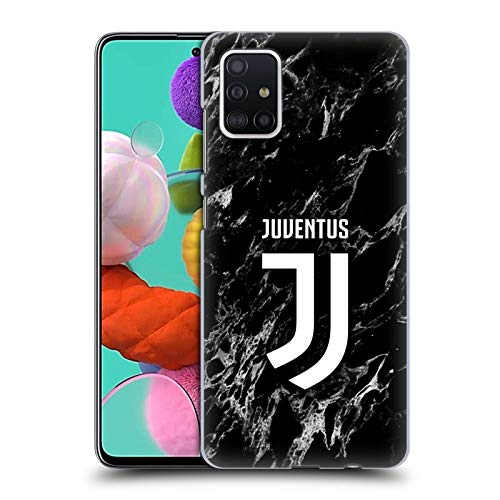 Head Case Designs Offizielle Juventus Football Club Schwarz Marmor Harte Rueckseiten Huelle kompatibel mit Samsung Galaxy A51 (2019)