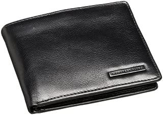 Leather Men's Passcase Billfold Wallet