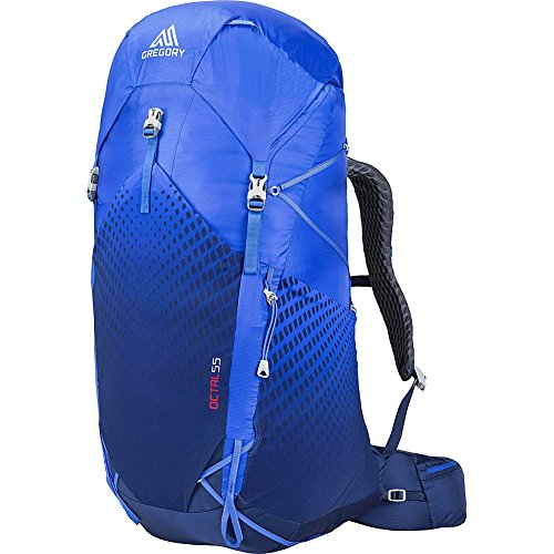 Gregory Womens Octal 55 Hiking Backpack (Monarch Blue - Medium)