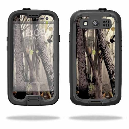 MightySkins Protective Vinyl Skin Decal Cover for LifeProof Samsung Galaxy S III S3 Case fre wrap sticker skins Tree Camo
