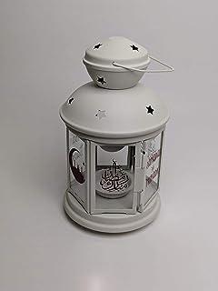 comprar comparacion IKEA Rotera - Farol para vela (acero/vidrio, para uso interior y exterior), acero vidrio, Blanco, 21 cm