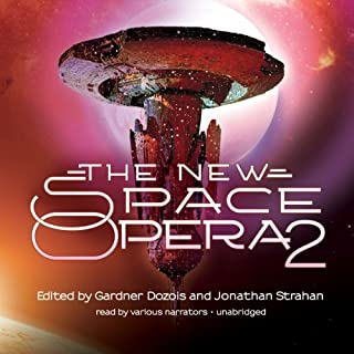 The New Space Opera 2                   By:                                                                                                                                 Gardner Dozois (editor),                                                                                        Jonathan Strahan (editor)                               Narrated by:                                                                                                                                 Tom Weiner,                                                                                        Bahni Turpin,                                                                                        Caroline Shaffer,                   and others                 Length: 23 hrs and 23 mins     36 ratings     Overall 3.7