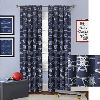 Best airplane nursery curtains Reviews