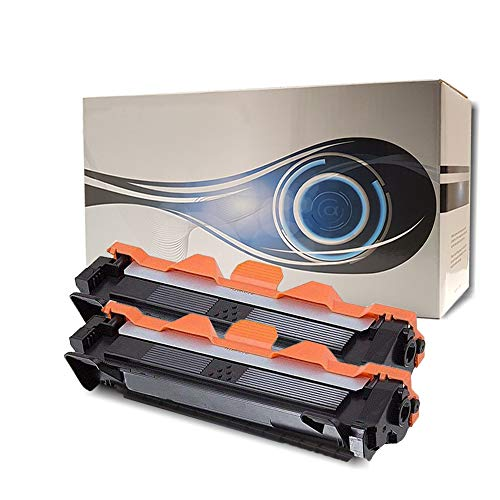 2 Toner Alphaink Compatibile con Brother TN-1050 versione da 1000 copie per stampanti Brother DCP1510 DCP1512 DCP1601 DCP1610W HL1110 HL1112 HL1211W MFC1810 MFC1815 MFC1910