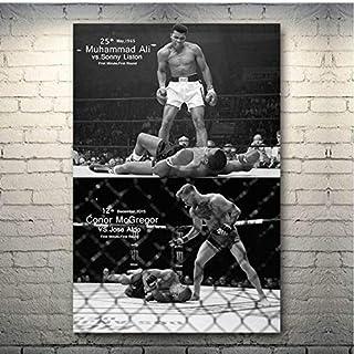Wall Art Poster Conor Mcgregor Foto Canvas Ufc Motivatie Boxer Schilderen Home Decor A155 50 × 70 CM Zonder Frame