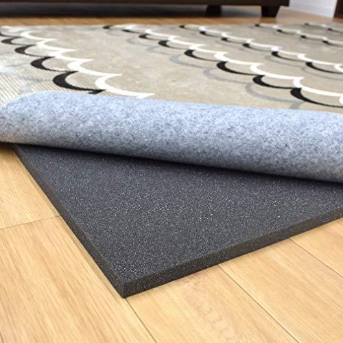 ラグ カーペット 下敷きラグ 2畳 約180×180cm ラグplus+ 厚手 ふかふか 滑り止め 洗える ホットカーペット...