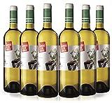 El Marido de mi Amiga Malvasía, Sauvignon Blanc y Tempranillo Vino Blanco Rioja - 75cl - 6 botellas