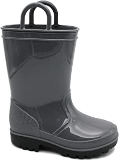 Kids Rain Boots Toddler/Little Kid/Big Kid Sizes Assorted Colors