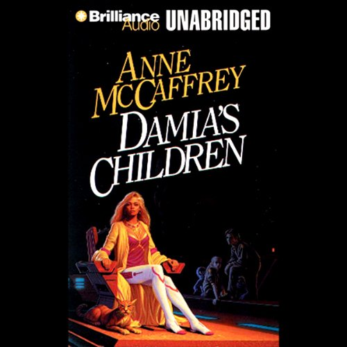 Damia's Children audiobook cover art
