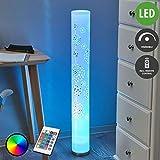 Lindby LED Stehlampe 'Mirella' dimmbar mit Fernbedienung (Modern) in Weiß u.a. für Wohnzimmer & Esszimmer (1 flammig, GU10, A, inkl. Leuchtmittel) - LED-Stehleuchte, Floor Lamp