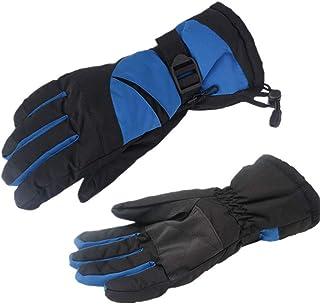 Fine Waterproof Winter Gloves, Warm Snow Sports Water-Splashing Anti-Skid Outdoor Gloves,Great for Ice Fishing, Skiing, Sledding, Snowboard - for Men or Women