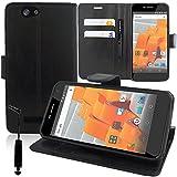 HCN Phone WILEYFOX Spark/Spark+ 4G/Spark Plus Wallet Case