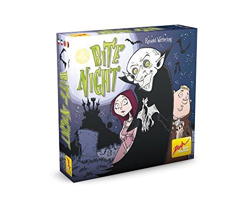 Zoch 601105075 Bite Night, Kartenspiel