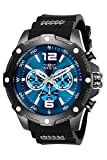 Invicta Men's I-Force 50mm Stainless Steel and Polyurethane Chronograph Quartz Watch, Black (Model: 27272)
