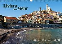 Riviera und Mehr - Nizza, Cannes, San Remo, Monaco (Wandkalender 2022 DIN A3 quer): Bilder entlang der Riviera (Monatskalender, 14 Seiten )