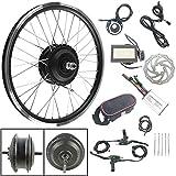 Schuck 36V 250W Rueda Delantera de Bicicleta eléctrica Kit de conversión de 20 Pulgadas KT LCD3 Pantalla Kit de conversión de Motor de Cubo de Rueda Delantera de Bicicleta eléctrica