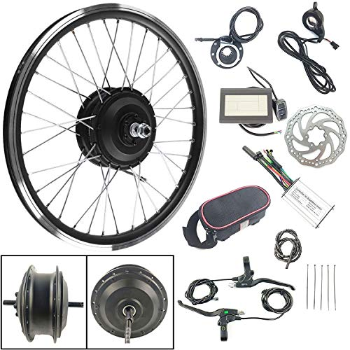 Schuck 36V 250W Elektrofahrräder Vorderrad 28 Zoll Umbausatz KT LCD3 Display Electric Bike Front Wheel Hub Motor Conversion Kit