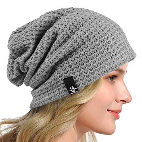 HISSHE Women's Slouchy Beanie Knit Beret Skull Cap Baggy Winter Summer Hat...