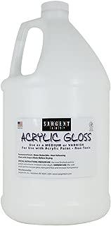Sargent Art 22-8812 Gallon Acrylic Gloss and Varnish