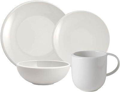 Villeroy & Boch New Moon 12-Piece Dinnerware Set