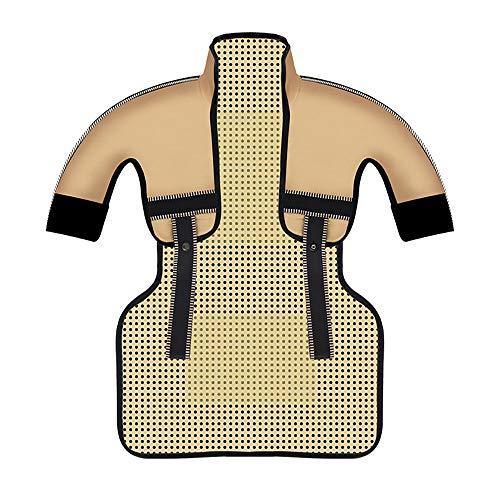 XASY verwarmingskussen voor rug, schouders en nek, automatische uitschakeling, warmtekussen, verwarmingsschaal, 3 standen, temperatuurcontrole voor ontlasting van rug en schouders