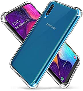 King Kong Armor Cover for Samsung Galaxy A50 Anti-Burst Super Protection -Transparent