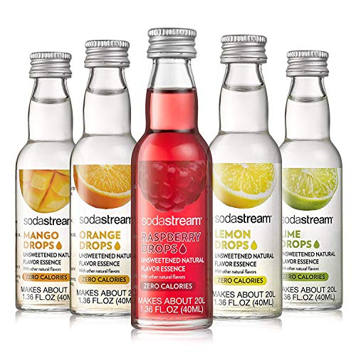 SodaStream Fruit Drops Variety Pack, 1.67 Pound