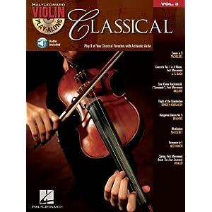 Classical (Songbook): Violin Play-Along Volume 3 (Hal Leonard Violin Play Along) (English Edition)