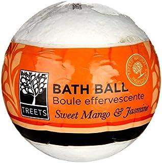 Treets甘いマンゴーとジャスミンバスボール - Treets Sweet Mango and Jasmine Bath Ball (Treets) [並行輸入品]