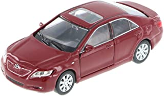"Welly Toyota Camry 1/40 Scale 4.75"" diecast Model car new Burgundy W73"