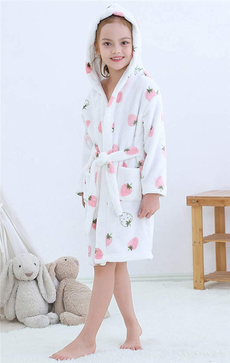 18 Years Betusline Girls Soft Bath Robe 12 Months