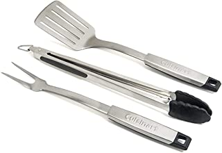 Cuisinart CGS-333 Professional Grill Tool Set (3-Piece),Black and Stainless Steel