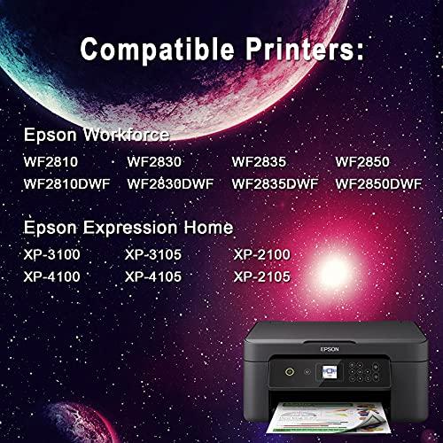 Jetingo 603 XL Reemplazo para Epson 603XL Cartuchos de Tinta Compatiable con Epson Expression Home XP-2100 XP-2105 XP-3100 XP-3105 XP-4100 XP-4105, Workforce WF-2810 WF-2830 WF-2835 WF-2850 (5P)