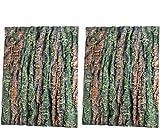 LACKINGONE Acuario 3D Natural Realista poliestireno e Fondo de Tanque de Peces decoración clásica