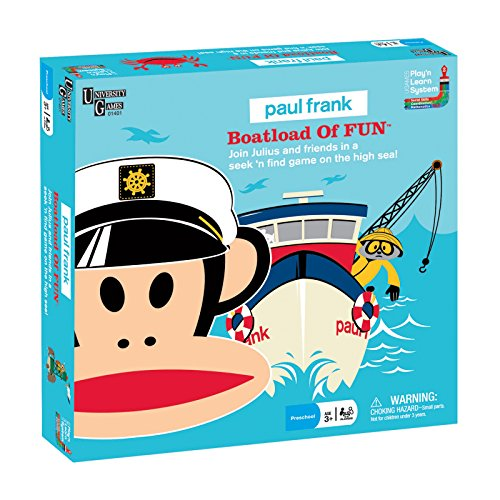 Paul Frank Boatload of Fun by University Games