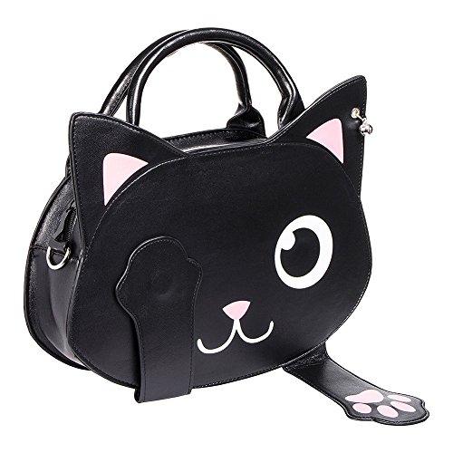 Bolso de bruja con forma de gato