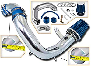 Rtunes Racing Cold Air Intake Kit + Filter Combo BLUE Compatible For 03-05 Dodge Neon SRT-4 Model only