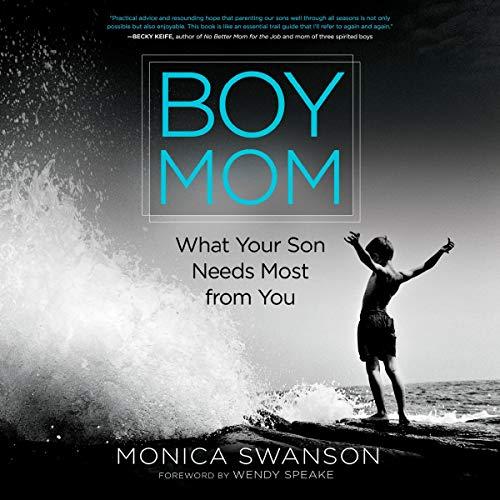 Boy Mom audiobook cover art