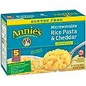 5-Pack Annie's Gluten Free Rice Pasta & Cheddar Macaroni & Cheese