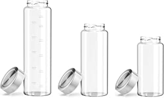 Zenbo Glass Water Bottle 32oz 26oz or 21oz, 100% Borosilicate Glass BPA-Free for to-Go Travel at Home Reusable Safe for Hot Liquids Tea Coffee Daily Intake Drink