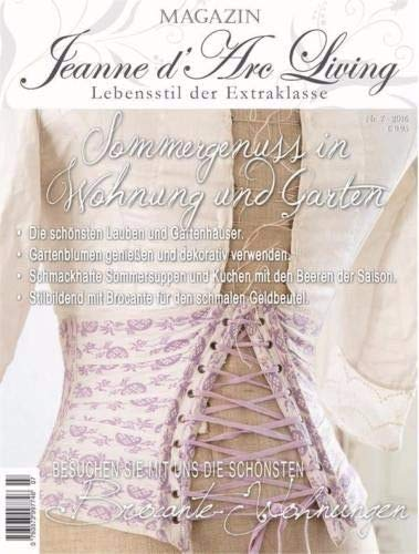 Jeanne d´Arc Living Sommergenuss en apartamento y jardín Revista Magazin Julio 2016